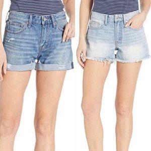 Lucky Brand The Boyfriend Jeans Denim Shorts